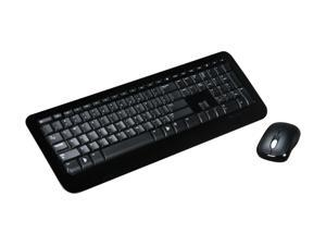 Microsoft Desktop 800 2LF-00001 Black USB RF Wireless Keyboard & Mouse