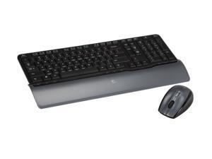 Logitech Black RF Wireless Desktop S520