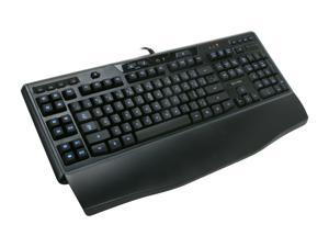 Logitech Black Wired LED Backlighting Gaming Keyboard