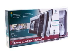 Logitech diNovo 967428-0403 2-Tone RF Wireless Cordless Desktop