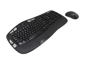 Logitech MK550 Black USB RF Wireless Ergonomic Wave Combo (K350 + M510)