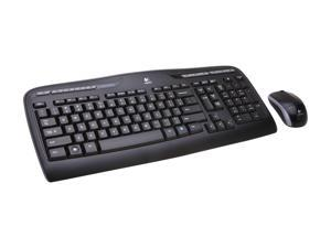 Logitech MK320 Black USB RF Wireless Standard Desktop