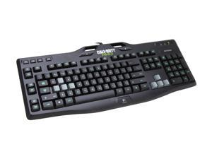 Logitech Call of Duty: MW3 Edition G105 Black Wired Keyboard