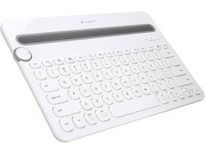 Logitech Bluetooth Multi-Device Keyboard K480 for Computers, Tablets and Smartphones, White (920-006343)