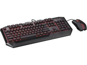 CM Storm Devastator - LED Gaming Keyboard & Mouse Combo (Red LED Model)