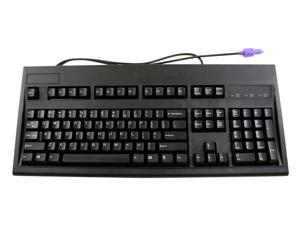 KeyTronic E03600QLPS2B-C Black Keyboard
