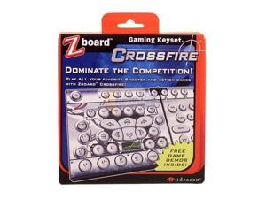 Ideazon Zboard Crossfire Game Keyset IW0USE1X1CSF01 Wired Keyboard