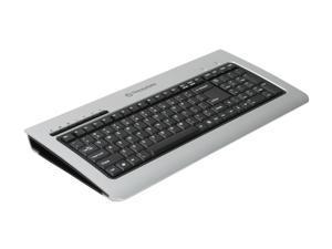 Thermaltake A2477 Silver/Black Soprano Aluminum Keyboard
