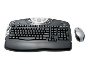 ADESSO MCK-9000 Black RF Wireless Office Keyboard w/ Optical Mouse