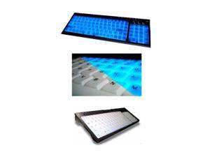 ADESSO EL-9805PB Blue Illuminated media Keyboard