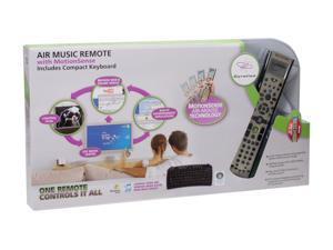 Gyration GYR4101US Black 2.4GHz RF Wireless Air Music Remote w/ MotionSense & Compact Keyboard