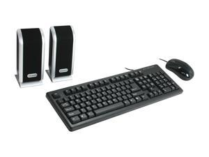DCT Factory KBJ-315U Black Wired Keyboard