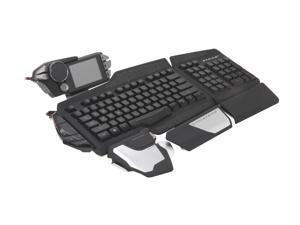 Mad Catz S.T.R.I.K.E. 7 MCB43109N002/02/1 Black USB Gaming Keyboard