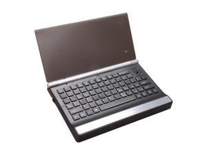 IOGEAR GKM571R Black USB RF Wireless Mini Keyboard with Trackball, Scroll Wheel and Backlight LED