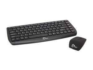 SIIG JK-WR0712-S1 Black RF Wireless Multimedia Keyboard & Mouse
