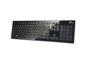 SIIG USB Compact Low Profile Multimedia Keyboard Black Keyboard