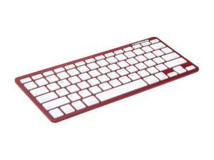 inland 71103 Red Bluetooth Wireless Keyboard