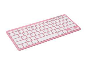 inland 71104 Pink Bluetooth Wireless Keyboard