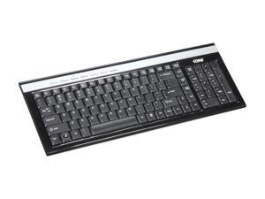 QUMAX Scorpius U2 Black Wired Multimedia Keyboard