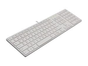 ARCTIC COOLING K381 AC-K381-W White Wired Multimedia Keyboard