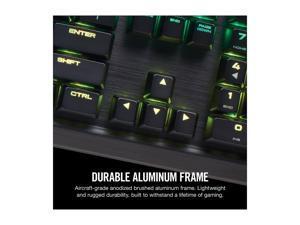 Corsair K95 RGB PLATINUM Mechanical Gaming Keyboard, Cherry MX Speed, Backlit RGB LED, Gunmetal