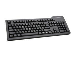 Das Keyboard DASK3PROMS1SI Black Wired Model S Professional Silent Keyboard