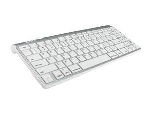 AZIO KB333BM White Bluetooth Wireless Keyboard (for Mac/ipad/iphone)