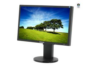 "SAMSUNG 245BW Black 24"" 5ms Widescreen LCD Monitor with Height Adjustment"