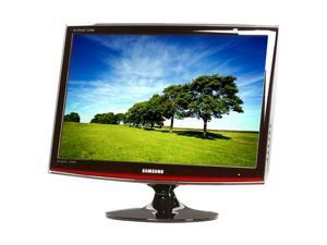 "SAMSUNG T220HD Rose Black 22"" 5ms Widescreen HDTV Monitor Built-in Speakers"