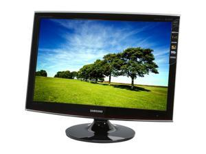 "SAMSUNG T260HD Rose Black 25.5"" 5ms Widescreen LCD Monitor Built-in Speakers"