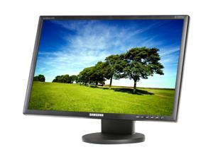 "SAMSUNG 22"" 5ms Height &Pivot Adjustable Stand Black Widescreen LCD Monitor"