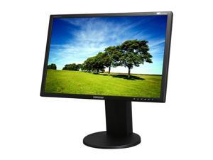 "SAMSUNG 2443BWT-1 Black 24"" 5ms Widescreen Height Swivel tilt & pivot Adjustable LCD Monitor"