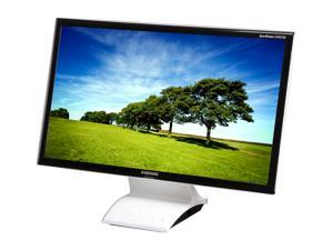 "SAMSUNG Smart Station C24B750X High Gloss Black/White 24"" 5ms (GTG) Widescreen LED-Backlit LCD Monitor"