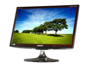 "SAMSUNG T22B350ND Rose Black 21.5"" 5ms Widescreen LED Backlight LCD Monitor Built-in Speakers"