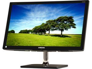 "SAMSUNG C550 Series T24C550ND Charcoal Gray 23.6"" 2ms (GTG) Widescreen LED Backlight HDTV LCD Monitor Built-in Speakers"