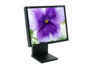 "NEC Display Solutions LCD1980SXi-BK Black 19"" 25ms LCD Monitor"
