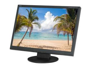 "NEC Display Solutions ASLCD224WXM-BK Black 22"" 5ms Widescreen LCD Monitor Built-in Speakers"