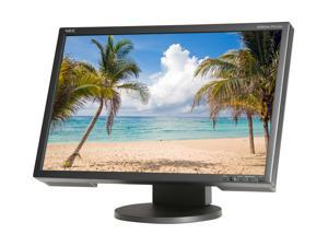 "NEC Display Solutions EA221WM-BK Black 22"" 5ms Height,Swivel & Pivot Adjustable Widescreen LCD Monitor 250 cd/m2 1000:1 Built-in ..."
