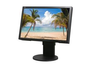"NEC Display Solutions EA241WM-BK 24"" Height,Pivot and Swivel Adjustable  Widescreen LCD Monitor"