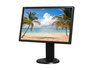 "NEC Display Solutions E222W-BK 22"" 5ms height pivot tilt & swivel adjust Monitor"