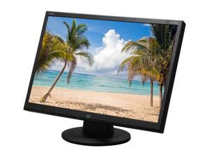 "NEC Display Solutions AS221WM-BK Black 22"" 5ms Widescreen LED Backlight LCD Monitor Built-in Speakers"