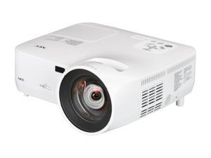 NEC Display Solutions NP510WS WXGA 1280x800 2100 Lumens Multimedia Portable Short Throw 3LCD Projector