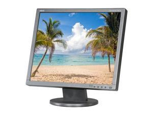 "NEC Display Solutions AccuSyc AS192-BK Black 19"" 5ms LED Backlight LCD Monitor 250 cd/m2 1000:1"