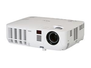 NEC Display Solutions NP-V300W WXGA 1280 x 800 3000 Lumens DLP High-Brightness Mobile Projector