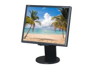 "NEC Display Solutions LCD1970NX-BK Black 19"" 18ms LCD Monitor"