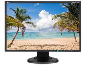 """NEC Display Solutions E223W-BK Black 22"""" 5ms Widescreen LED Backlight LCD Monitor"""