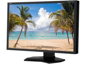 "NEC Display Solutions PA242W-BK Black 24"" 8ms Widescreen LED Backlight Height, Pivot, Swivel, Tilt 1.07 billion out of 4.3 ..."