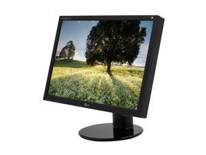 "LG L246WP-BN Black 24"" 8ms(GTG) Widescreen LCD Monitor with USB2.0 Hub and Height & Pivot Adjustments"