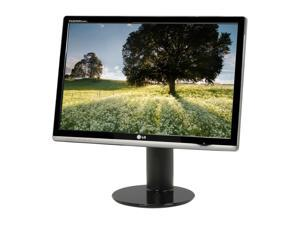 "LG W2600H-PF Black 25.5"" 5ms Widescreen LCD w/ HDCP & Height Adjustment"