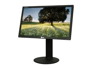 "LG E2411PU-BN Black 24"" 5ms Widescreen LED Backlight Height & Pivot Adjustable LCD Monitor Built-in Speakers"